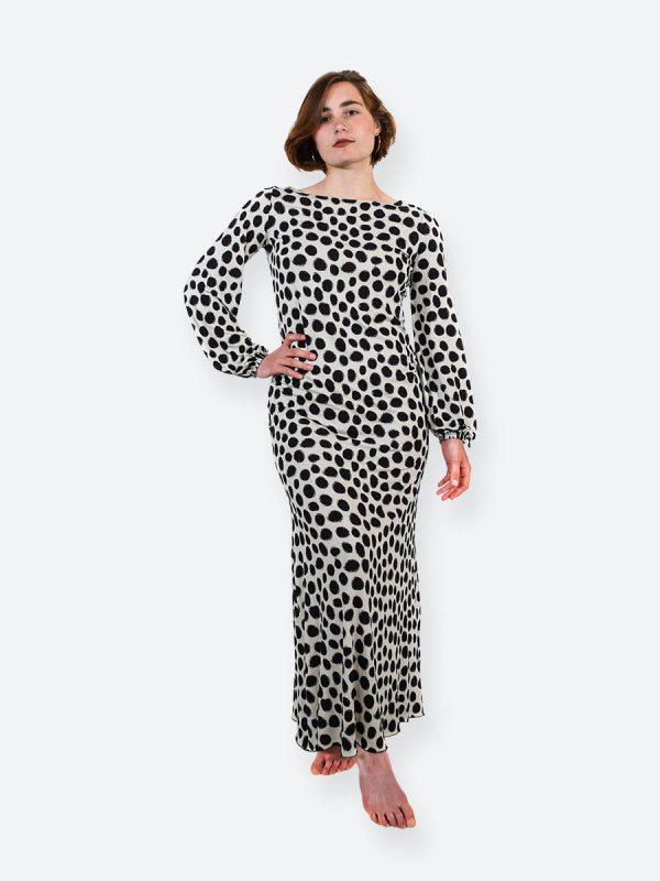 Lunaria Classic (polka dots black)