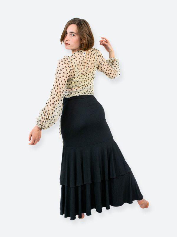 Lunaria Black Skirt