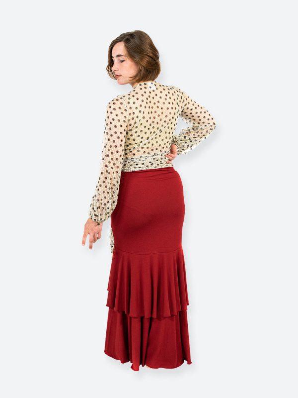 Lunaria Red Skirt