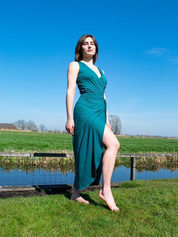 Dress Summer Blue