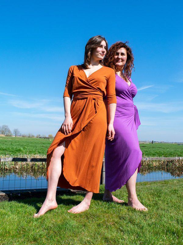 Dress Summer Purple